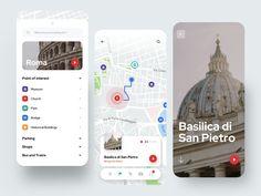 Tourist App by Lorenzo Perniciaro for Fireart Studio on Dribbble