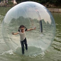 Walk On Water Transparent Orb