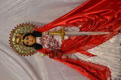 Santa Barbara - the Catholic Saint used to represent Chango.