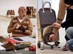 Frank Gehry, Christian Louboutin, Cindy Sherman, Karl Lagerfeld, Marc Newson y Rei Kawakubo, diseñadores reconocidos internacionalmente, hicieron una intervención para Louis Vuitton, en la cual debían crear, sin ninguna regla o limitación, una serie de maletas.
