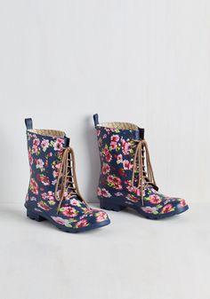 When It Rains, It Fleurs Rain Boot