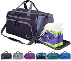 e31050b4e2 Venture Pal Packable Sports Gym Bag Wet Pocket  amp  Shoes Compartment  Travel Duffel Bag Men. Best Amazon ...