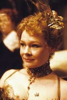 "Young Judi Dench. First female to portray the 007 series character ""M"" which she did in GoldenEye (1995)."
