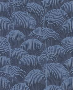 Brighton Pavilion Palm Midnight Blue wallpaper by Architects Paper