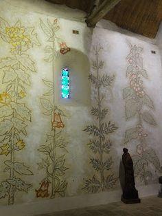Mural at Chapelle Sainte Blaise de Simples - Jean Cocteau