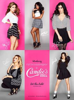 Shop for @FifthHarmony's looks for @candiesbrand here: http://bit.ly/5HxCandies   #5HxCandies