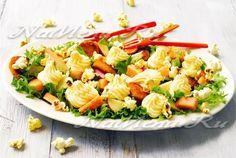 Салат с крабовыми палочками и цветной капустой