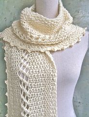 Ravelry: Textured Scarf pattern by Ester Puente Knitting Pattern Scarf Pattern