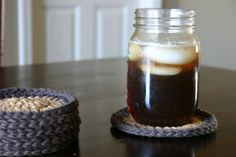 simple crochet coasters (pattern included)