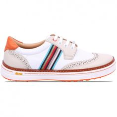Royal Albartross Ladies Club Crew White | Golf Shoes | TRENDYGOLFUSA.COM