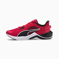 PUMA Hybrid Nx Ozone Men's Running Shoes in High Risk Red/Black size 8.5