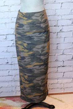 Camo See Me Now Skirt. Camo is the ultimate neutral. Pair it with just about any colour for a fun look. Baggy Tee, Salt And Light, Me Now, Spring Collection, Camo, Midi Skirt, Neutral, Colour, Skirts