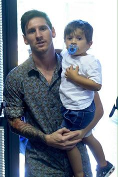 Messi's first son, Thiago, was born on 2 November 2012. His second son, Mateo, was born today, 11 September 2015.