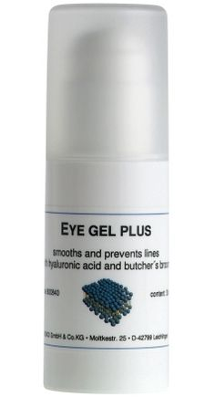 """Pamper those peepers and kick lines and wrinkles to the curb with dermaviduals """"Eye Gel Plus"""" - a soothing gel formula with Hyaluronic Acid, Butcher's Broom, Cucumber Extract and Panthenol! :-) <3"""