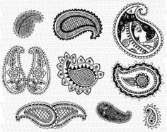 paisley pattern vector free download - Buscar con Google