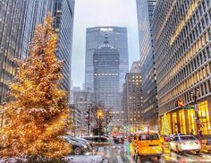 Park Avenue dressed for Christmas by @shooting_nyc by newyorkcityfeelings.com - The Best Photos and Videos of New York City including the Statue of Liberty Brooklyn Bridge Central Park Empire State Building Chrysler Building and other popular New York places and attractions.
