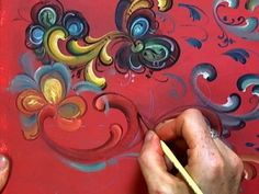 Great post on Rosemaling