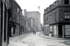 De Walstraat in juni 1945 net na de bevrijding