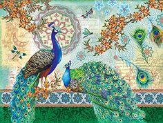 Royal Peacocks a 500-Piece Jigsaw Puzzle by Sunsout Inc. ... https://www.amazon.com/dp/B00MJCJARG/ref=cm_sw_r_pi_dp_x_rjy8xbM9HSWMH