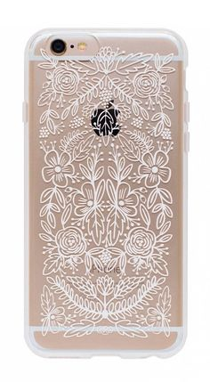 Even phone cases deserve some floral + lace. So pretty!