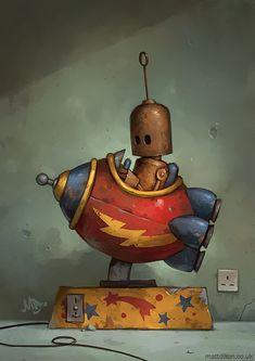 De-nouveaux-robots-solitaires-par-Matt-Dixon-6 De nouveaux robots solitaires par Matt Dixon