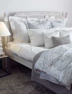 zara home crazy about their bed linens.. awesome spanish interior design store