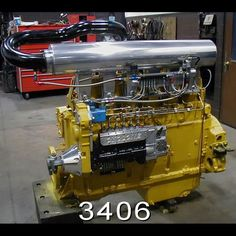 3406 cat built by cyclone machine Big Rig Trucks, Cool Trucks, Semi Trucks, Custom Big Rigs, Custom Trucks, Small Diesel Generator, Peterbilt Trucks, Dodge Trucks, Cat Engines