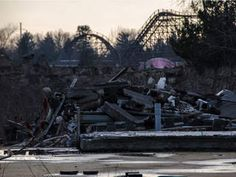 Geauga Lake park, Ohio. I have so many great memories there with my entire family. It's a sad thing to see it crumble now.