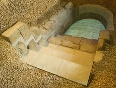 13th century Mikveh. The mikveh was for baptism, for ritual cleansing.