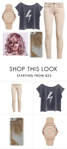 """""""Untitled #89"""" by piano4699 ❤ liked on Polyvore featuring The Vintees T-Shirts Co., Agent 18 and Burberry"""
