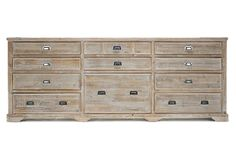 Samson Sideboard. This reclaimed wood traditional sideboard is crafted from classic pine, this piece is ideal for storage as well as serving. An ideal accent in the dining room as well as the living room. --- Great for that flat screen TV, the entry way for storage as well.  Love the finish.