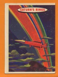 Saturn's Rings trading card!