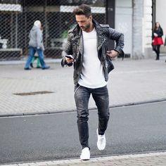 Magic Fox #Fashion #Art #inspiration #urban #Street #menswear #black #white #Model