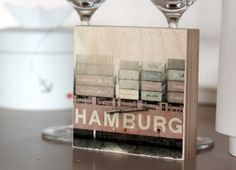 """""""Hamburg"""" Containerschiff im Hamburger Hafen"""
