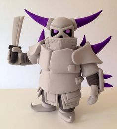 Clash of clans jumping Clay Gijon