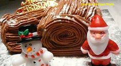 Fast and Easy Christmas Yule Log Cake - Country Recipes Style A Yule log is a traditional cake that was made for many years for the Christmas holiday. Christmas Yule Log, Simple Christmas, All Things Christmas, Christmas Cakes, Christmas Holiday, Chocolate Log, Christmas Chocolate, Yule Log Cake, Turkey Cookies