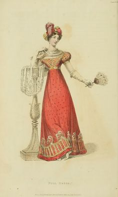 EKDuncan - My Fanciful Muse: Regency Era Fashions - Ackermann's Repository 1823