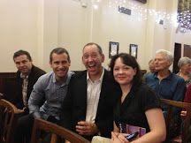 L-R: Luke Mercieca, Mark Mercieca, Myself, and Amanda Bridgeman at the Aurealis Awards.