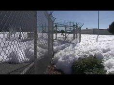 Foam fills Santa Clara street - Story | KTVU