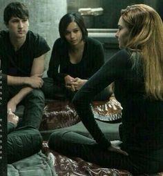 Will, Christina & Tris