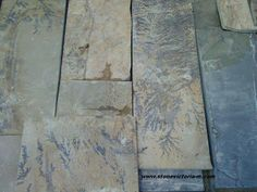 Fossil Stone from Victoria- M Ltd Bulgaria.The company started in 2007 to  produce natural stone for cladding and flooring with unique images within the stone which they rightly describe as a gift of nature.
