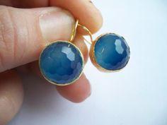 blue jade earrings from @Etsy!