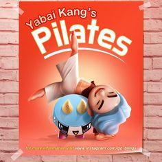 go_blings섹시한 건 혼자 다하는, #YabaiKang 's #pilates  #HotTutor #sixpack #MadSexyToe #야바이강 #필라테스 #불꽃남자 #씩스팩 #치명적인발가락 . #BIGBANG #GOBLINGS #Daesung #Dru #YG #character #빅뱅 #고블링즈 #대성 #드루