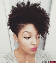 40 Cute Tapered Natural Hairstyles for Afro Hair in 2018 | Natural ...