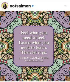 Karen Salmansohn, Letting Go, Let It Be, Feelings, Learning, Cover, Books, Libros, Lets Go