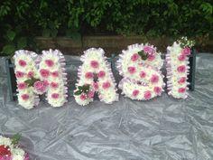 Keeping to the theme Funeral Flowers, Felt Hearts, Wreaths, Jewelry, Jewlery, Door Wreaths, Jewerly, Schmuck, Jewels