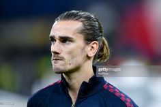 Antoine Griezmann of Barcelona during the UEFA Champions League stage match between Internazionale and Barcelona at Stadio San Siro, Milan, Italy on 10 December 2019 (Photo by Giuseppe Maffia/NurPhoto via Getty Images) Antoine Griezmann, Football Boys, Uefa Champions League, Hot Guys, Barcelona, Celebs, 10 December, Milan Italy, Men