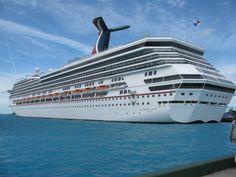 Carnival Glory - Honeymoon Cruise to the western caribbean. Cozumel, Belize, Isla Roatan, Grand Cayman