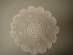 """All State Hand Crafted Crocheted Doilies, 6"""" Round, White - Set Of 4, 2015 Amazon Top Rated Doilies #BISS"""