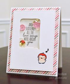 Mama Elephant Stamp Highlights: Love Quotes